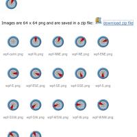 Windanzeige Icons automatisch generieren
