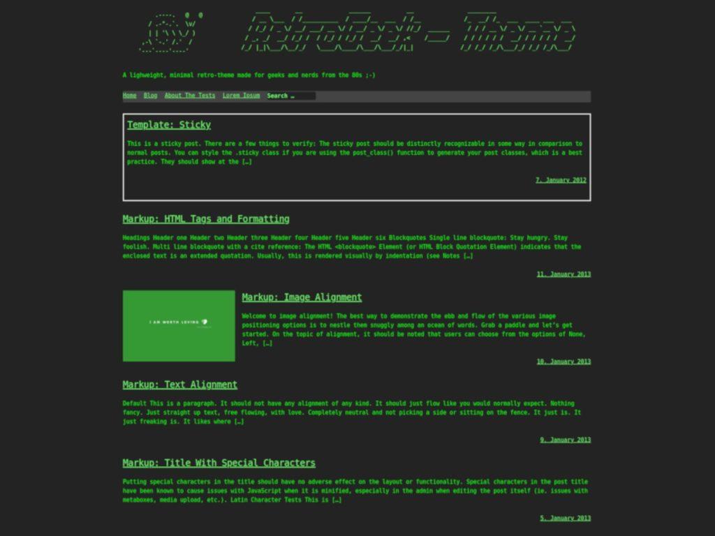 RetroGeek-Theme
